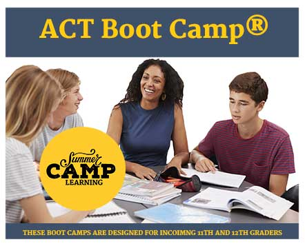 Summer ACT Boot Camp