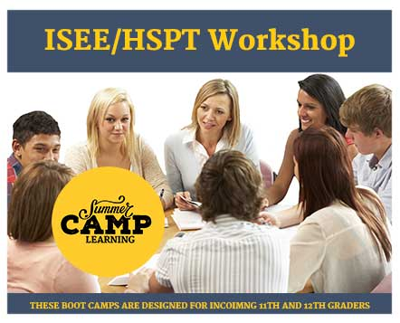 Summer ISEE/HSPT Workshop